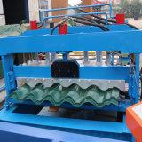 Rolo de aço ondulado vitrificado personalização do cliente de Sri Lanka que dá forma à máquina