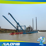 Draga idraulica Jlcsd500 di aspirazione della sabbia pronta in azione