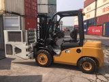 Diesel 3.0ton chariot élévateur à fourche avec des colliers de carton