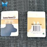 Glatte Laminierung gefaltete hängende Fall-Papier-Marke der Marken-350g für Haustier-Produkte