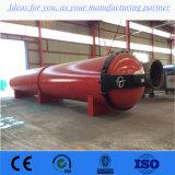 El preservativo de madera industrial horizontal autoclave