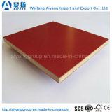 赤いフィルムは具体的な型枠の合板のサイズ1220*2440mmに直面した
