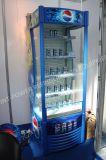 Showcase do refresco do refrigerador do indicador do suco da bebida do supermercado