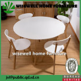 純木の現代食堂の家具セット