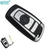 Le remplacement de modification Remote Shell Clé de voiture pour BMW 1 3 5 6 7 série X3 X4 Key Fob Cas 3 boutons Insérer le couvercle de la clé de lame