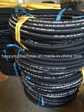 Boyau en caoutchouc industriel à haute pression R2at/2sn de tresse de fil d'acier de deux Doubles couches