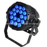 luz al aire libre de la etapa de la IGUALDAD de 18X12W RGBWA 5in1 LED