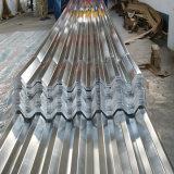 루핑을%s 직류 전기를 통한 물결 모양 강철판