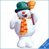 Pubblicità gonfiabile del pupazzo di neve gonfiabile di formato enorme