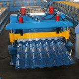Rodillo esmaltado azulejo acanalado interesante acogido con satisfacción de la hoja que forma las máquinas