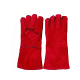 14 pouces rouge High-Temperture à manchon long Gant de soudage par résistance