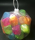 Nueva forma cuadrada bola de hielo con PE transparente, Flash Ice Cube fabricante en Shenzhen
