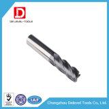 Herramienta de carburo de tungsteno del molino de extremo del cuadrado del carburo de la flauta de la alta precisión 4