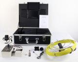 미터 카운터를 가진 산업 관 하수구 하수구 배관공사 검사 사진기 시스템