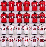 Abitudine bianca rossa del pullover di football americano dell'elite di Atlanta Matt Ryan Julio Jones Desmond Trufant Devonta Freeman dei bambini dei capretti delle donne del Mens qualsiasi nome qualsiasi numeri