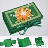 Contenitori di monili del Leatherette/contenitore di gioiello di carta