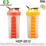 [600مل] حديثا بلاستيكيّة بروتين رجّاجة زجاجة ([هدب-0512])