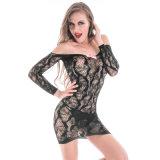 Оптовая высокая упругость плюс женское бельё Bodystocking размера сексуальное