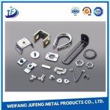 Aço inoxidável do OEM/alumínio/peça carimbada metal para o conetor
