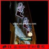 第2 LEDポーランド人Motif Christmas Decorations Street Light