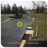 Черный квадрат из переработанных UHMWPE дорожного покрытия коврик/временной дорожной коврик с SGS ISO9001