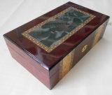 Caja de embalaje del perfume de madera