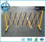 Barrière de pliage de trafic métallique pour route