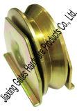 V roue de cannelure avec de doubles plaques