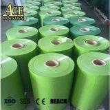La couleur verte Arbre de Noël Film PVC rigide