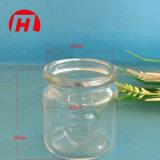 bottiglia di vetro del miele della bottiglia del pudding 140ml con la decalcomania ed il sughero