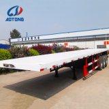 China-Fertigung 20FT/40FT 3 Wellen-Flachbettbehälter-halb Schlussteile