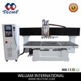 Muebles del movimiento del vector de máquina del CNC que tallan el ranurador de madera rotatorio (VCT-TM2515)
