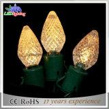 Оформление праздника Рождества оформление лампа освещения C7 C9 Рождество привели String фонари