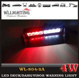 警察LEDの風防ガラスのStobe赤く青いライト