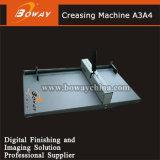 Papel manual de la operación A3 A4 de la mano de la oficina del anuncio que arruga la máquina Bw-12/12p de Creaser