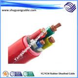 Гибкой силовые кабели обшитые резиной