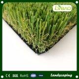 Groene Gekleurde Sporten die de Kunstmatige Tapijten van het Gras voor het Stadion van de Voetbal vloeren