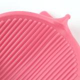 台所防水ピンクのブタのシリコーンの手袋、FDAのシリコーンのオーブンのミット