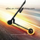 Schwanzloser Bewegungsfaltbarer elektrischer Roller mit faltendem Griff