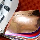 Hochwertiger bester Preis-entfernbares Goldspiegel-Rosen-Goldchrom-Auto-Verpackungs-Vinyl