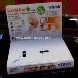 Video banco di mostra senza fili acrilico di plastica su ordinazione del campanello