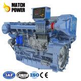 El mejor precio Weichai 550CV Wp12c motor diesel marino Steyr motor Barco de 330kw