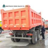 25ton HOWO 336HPエチオピアのダンプトラックのダンプカートラック15cubicは砂のダンプカートラックをメーターで計る