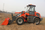 2.5ton Everun Brand Small Farm Loader mit Tipping Cabin