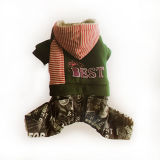 Vêtements pour animaux de compagnie manteau pour chien