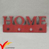 Деревянные стены Red Hat крюки Vintage настенные украшения подвески