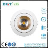 iluminación ajustable ahuecada 30W del punto del LED