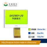 128X64 LCD van het radertje Module van het Bekijken van Gebied 48.00*36.00