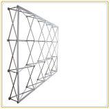 Stand de exposición portátil con 10 pies de tejido de tensión gráfico