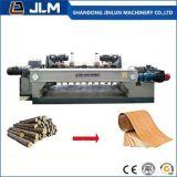 chaîne de production en bois en caoutchouc d'écaillement de placage de 6FT Spindless